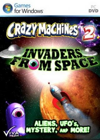 Скачать Crazy Machines 2: Invaders from Space торрент