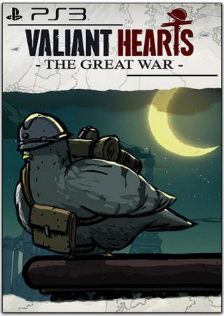 Скачать Valiant Hearts: The Great War (2014) PS3 торрент