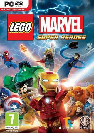 Скачать LEGO Marvel SuperHeroes торрент