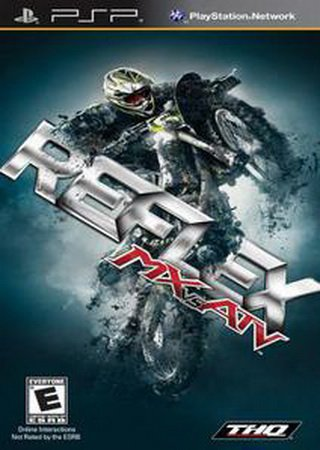 Скачать MX vs ATV: Reflex (2009) PSP торрент