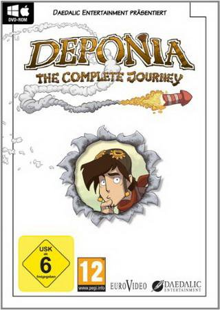 Скачать Deponia: The Complete Journey торрент