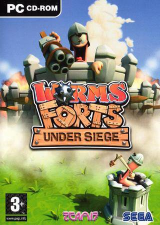 Скачать Worms Forts: Under Siege торрент
