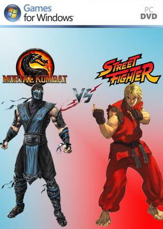 Скачать M.U.G.E.N MORTAL KOMBAT VS STREET FIGHTER торрент