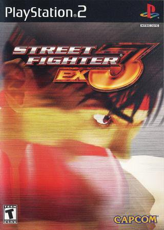 Скачать Street Fighter EX3 PS2 торрент