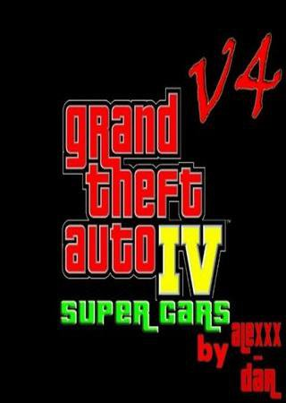 Скачать Grand Theft Auto 4 - Super Cars v4 торрент