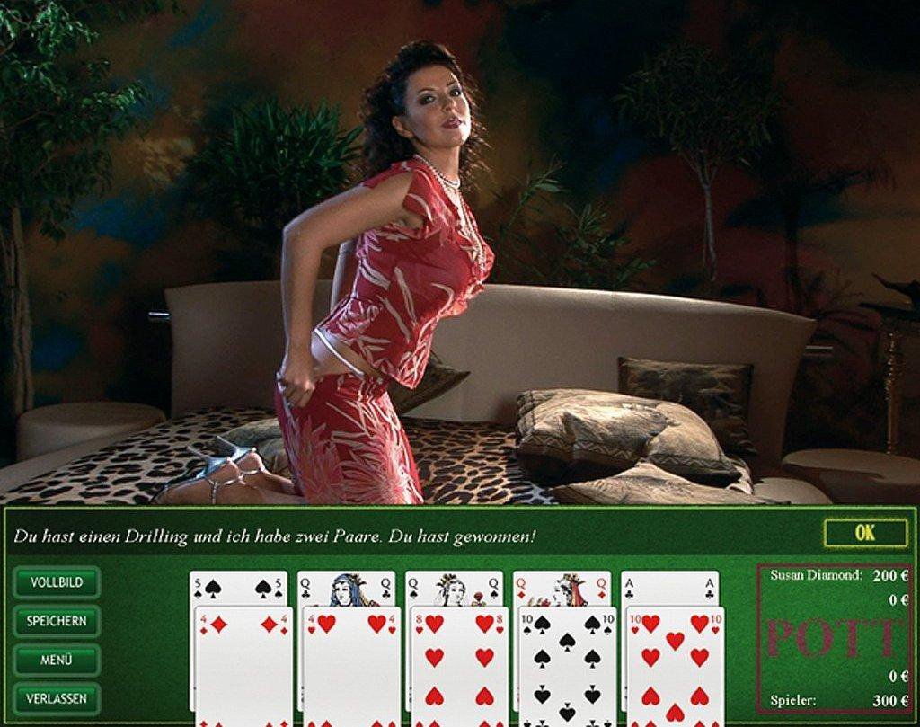 Online strip poker games video