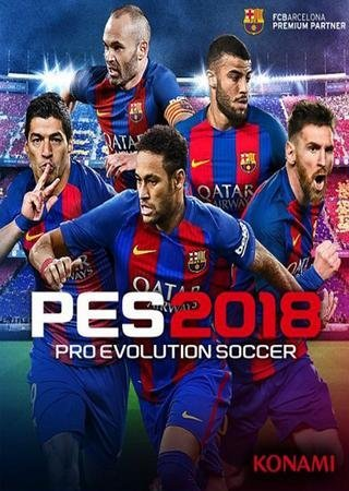 Скачать PES 2018 / Pro Evolution Soccer 2018: FC Barcelona Edition торрент