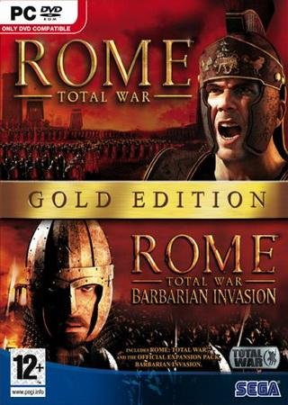 Скачать Rome: Total War - Gold Edition торрент