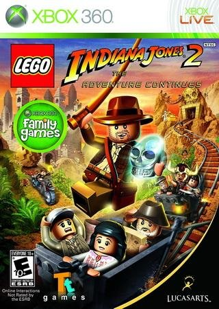 Lego Indiana Jones 2: The Adventure Continues Скачать Бесплатно