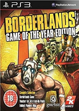 Скачать Borderlands: Game of the Year Edition торрент
