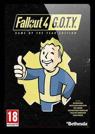Скачать Fallout 4: Game of the Year Edition торрент