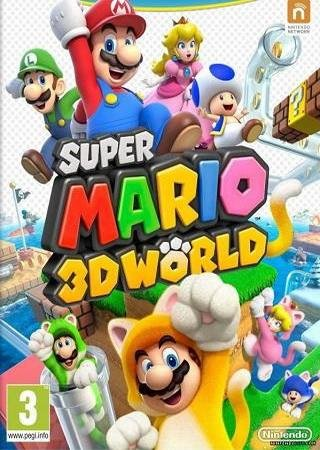 Скачать Super Mario 3D World торрент