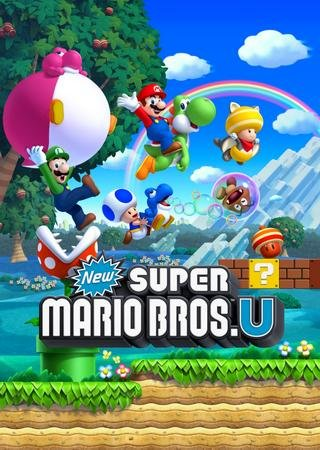 Скачать New Super Mario Bros U торрент