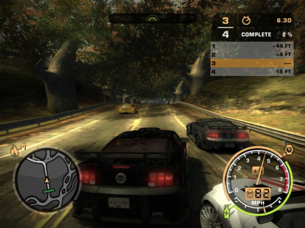 Need For Speed Most Wanted 2005 Crack Only