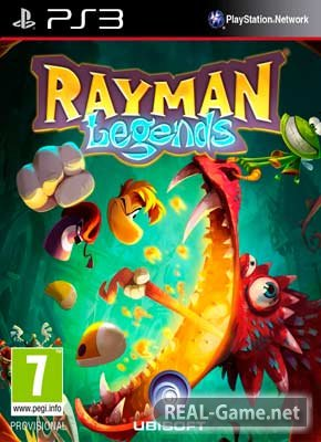 Скачать Rayman Legends (2013) PS3 торрент