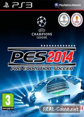Скачать Pro Evolution Soccer 2014 PS3 торрент