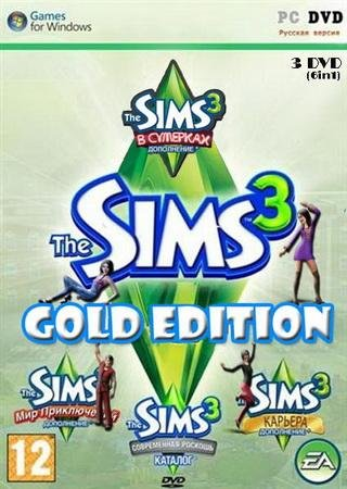 The Sims 3: Gold Edition + Store October 2013 Скачать Торрент