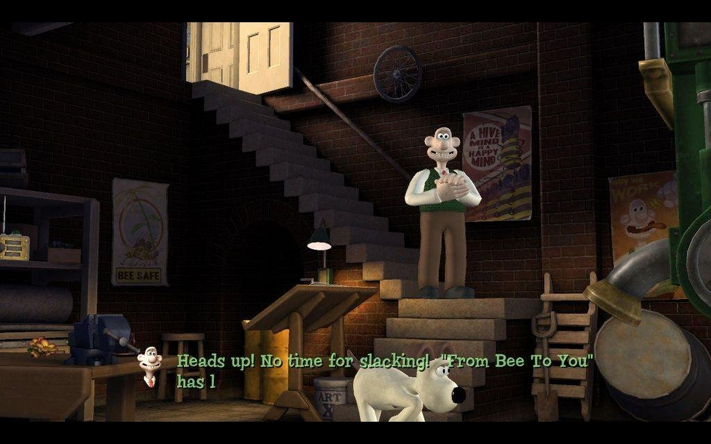 Wallace  gromits grand adventures (pc)