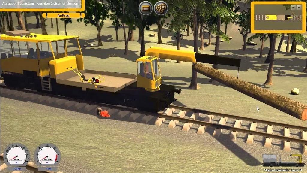 Скачать Gleisbau Simulator 2014