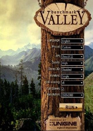 Valley Benchmark [v1.0] (2013) ������� ���������
