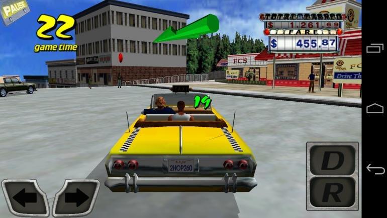 Taxi driver 3d cab parkingfree