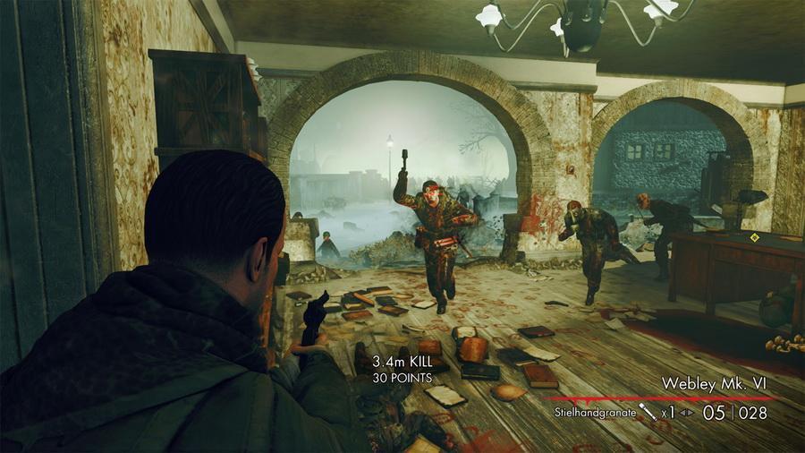Скачать Игру Снайпер Элит Зомби - фото 3