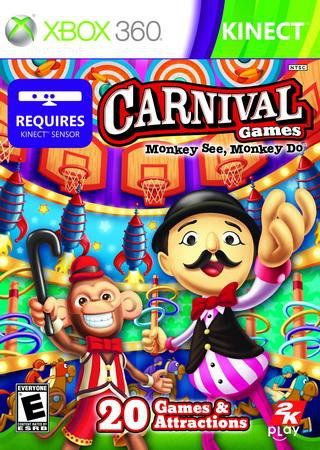 Carnival Games: Monkey See, Monkey Do (2011) Скачать Бесплатно