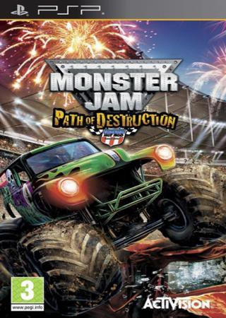 Monster Jam: Path of Destruction (2010) PSP ������� �������