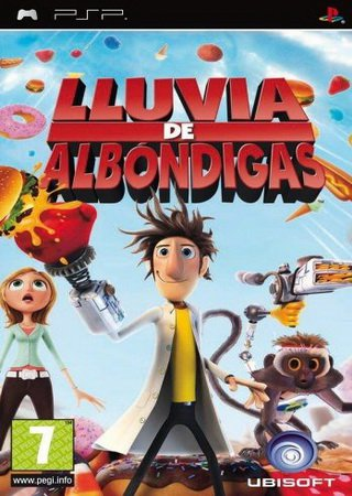 Cloudy With a Chance of Meatballs (2009) PSP Скачать Бесплатно