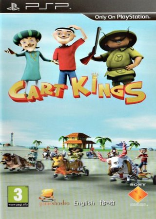 Cart Kings (2013) PSP ������� ���������