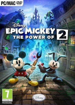 Disney Epic Mickey 2: The Power of Two Скачать Торрент