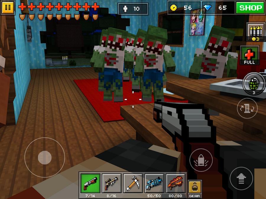 игра зомби и