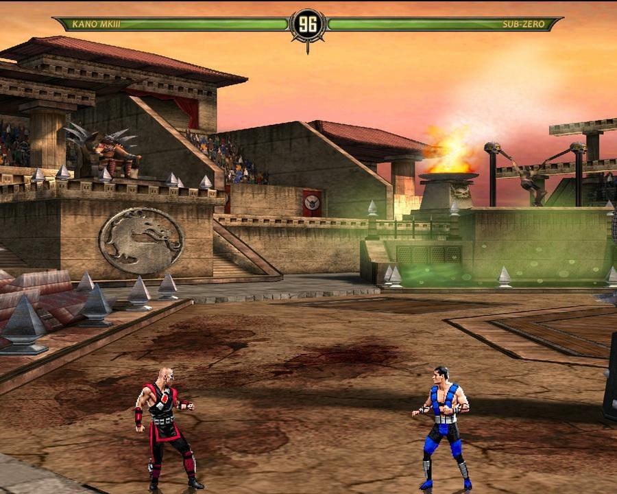 Mortal Kombat Vs Dc Universe торрент
