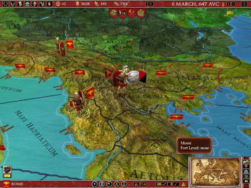 Europa Universalis Rome Торрент