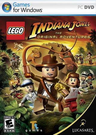 Скачать LEGO Indiana Jones: The Original Adventures торрент