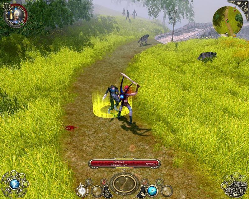 Фан-сайт игры sacred