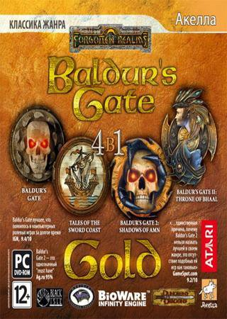 Скачать Baldurs Gate: Gold Edition торрент