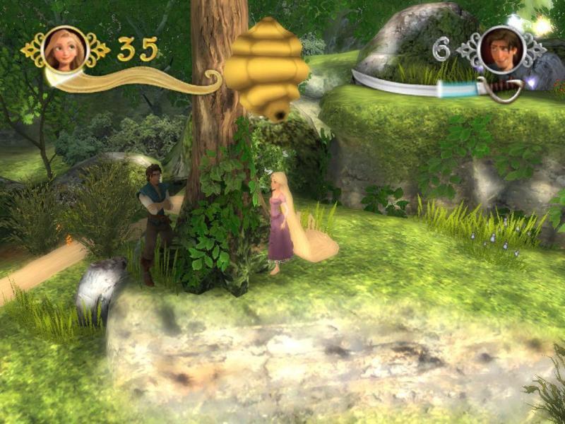 Рапунцель флеш запутанная история игры