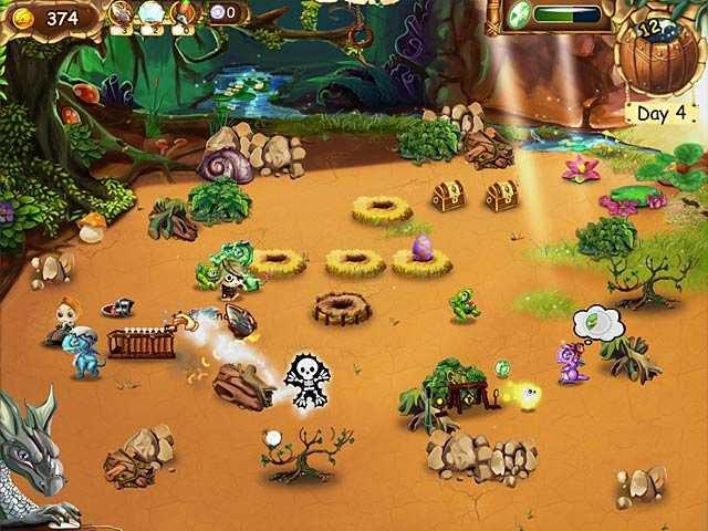 Нажмите, для просмотра в полном размере первый скриншот к игре в поисках дракона