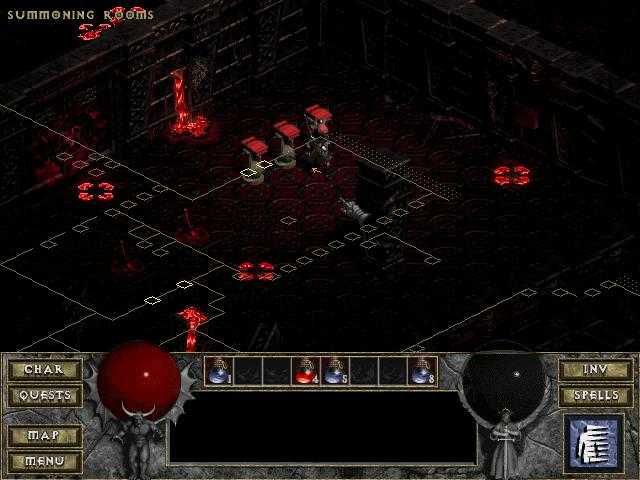 Diablo 2 проблемы цвета