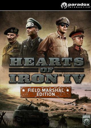 Hearts of Iron IV: Field Marshal Edition Скачать Бесплатно