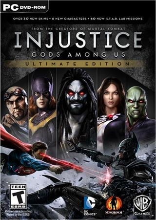 Скачать Injustice: Gods Among Us. Ultimate Edition торрент