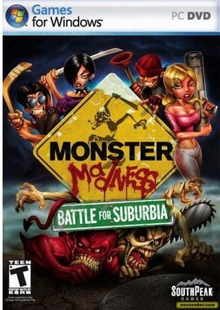Monster Madness: Battle for Suburbia Скачать Торрент