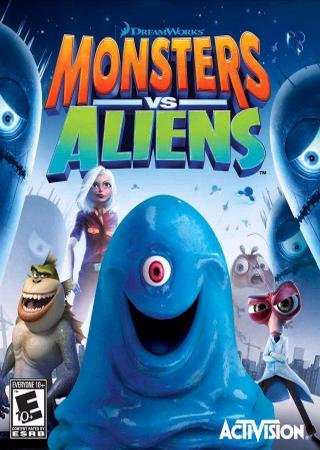 Скачать Monsters vs. Aliens - The Videogame торрент