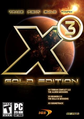 Скачать X³: Reunion - Gold Edition торрент