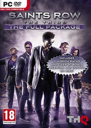 Скачать Saints Row: The Third - The Full Package торрент