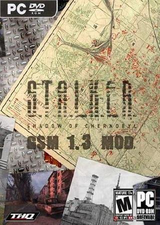 Скачать S.T.A.L.K.E.R.: Shadow of Chernobyl - GSM 1.3 торрент