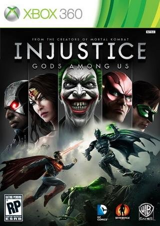 Скачать Injustice: Gods Among Us торрент
