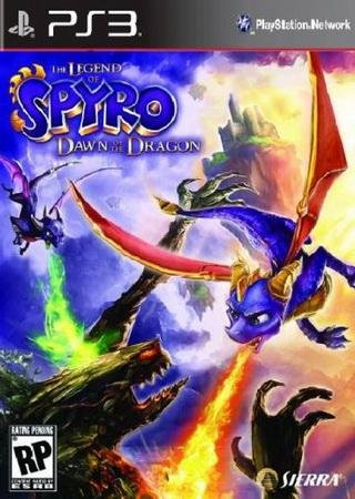 Скачать The Legend of Spyro: Dawn of the Dragon торрент